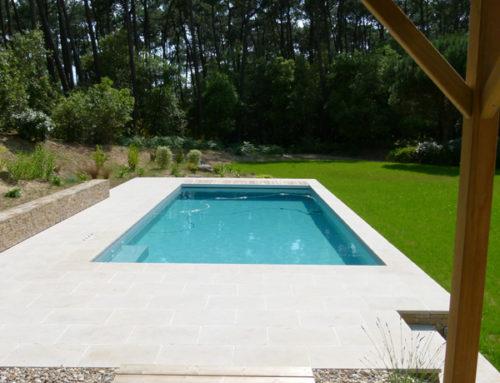 Construction piscine Talmont St Hilaire