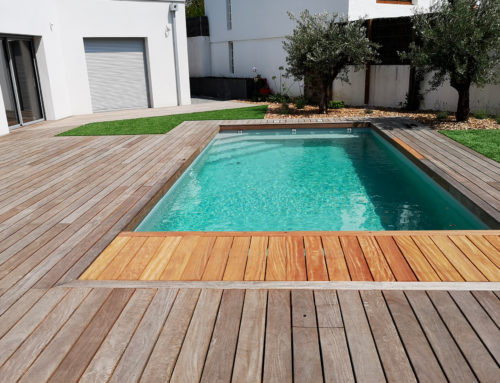 Construction piscine au Château d'Olonne