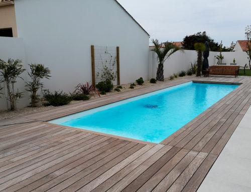 Construction d'une piscine aux Sables d'Olonne